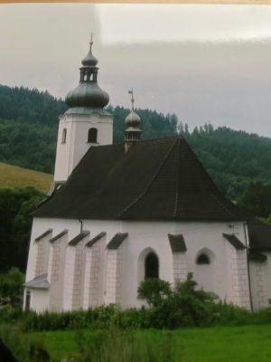Kirche in Zöptau - Sobotin